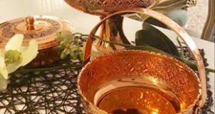 فروش فوق العاده ظروف مسی زنجانی