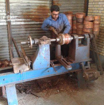 کارگاه ظروف مسی اصفهان
