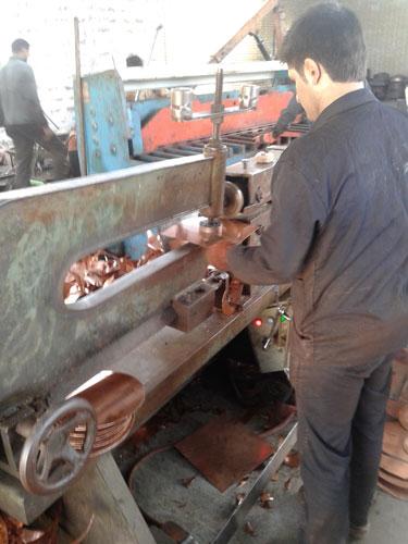 تولید کننده ظروف مسی در اصفهان