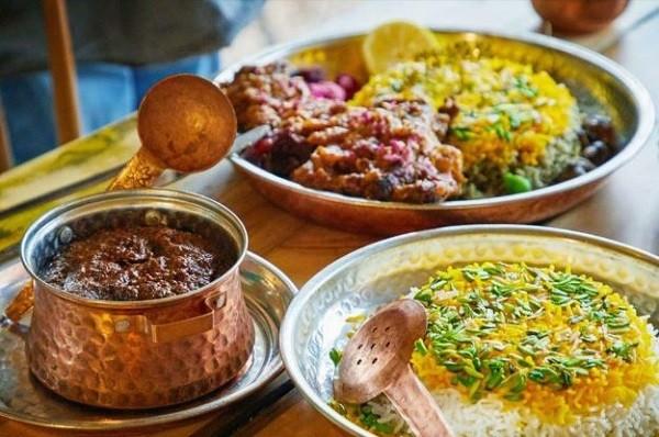 ظروف مسی برای رستورانها