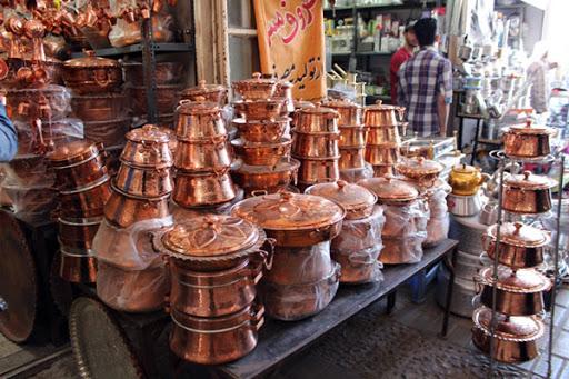 مرکز پخش ظروف مسی با قیمت ارزان