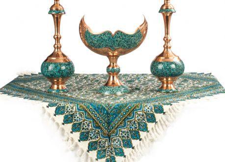 شکیل ترین و فاخرترین فیروزه کوبی اصل اصفهان