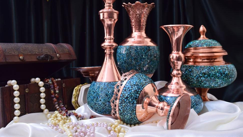 صادرات ظروف فیروزه کوب اصفهان