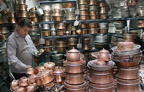 فروش عمده ظروف مسی – فروش ظروف مسی